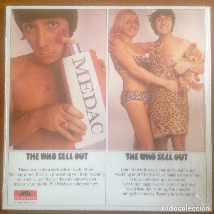 THE WHO - THE WHO SELL OUT (Música - Discos - LP Vinilo - Pop - Rock Extranjero de los 50 y 60)