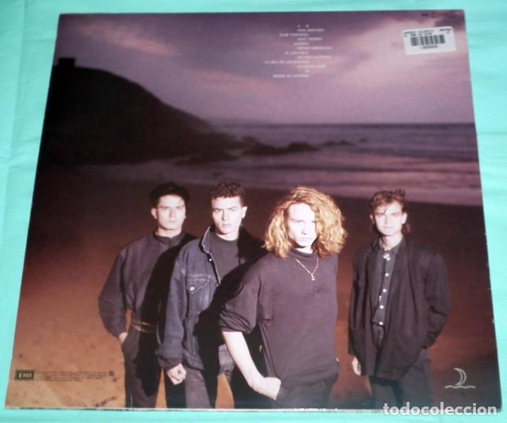 Discos de vinilo: LP HEROES DEL SILENCIO - EL MAR NO CESA - Foto 2 - 132327258
