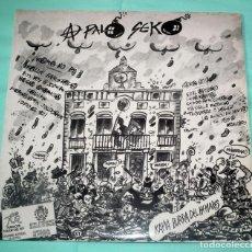 Discos de vinilo: LP A PALO SEKO - CAÑA BURRA DEL HENARES. Lote 132327794