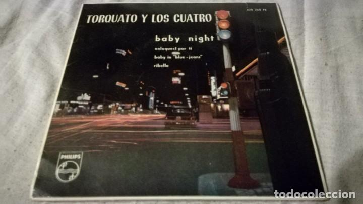 TORQUATO Y LOS CUATRO-BABY NIGHT-PHILIPS/ PI22 (Música - Discos de Vinilo - EPs - Música Infantil)