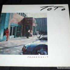 Discos de vinilo: LP TOTO - FARENHEIT. Lote 132328930