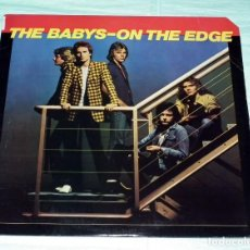 Discos de vinilo: LP THE BABYS - ON THE EDGE. Lote 132329262