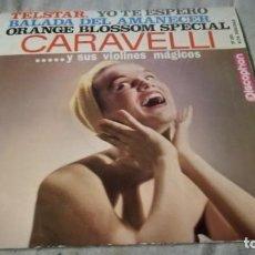 Discos de vinilo: CARAVELLI…Y SUS VIOLINES MAGICOS-DISCIPHON/ PI22. Lote 132329862