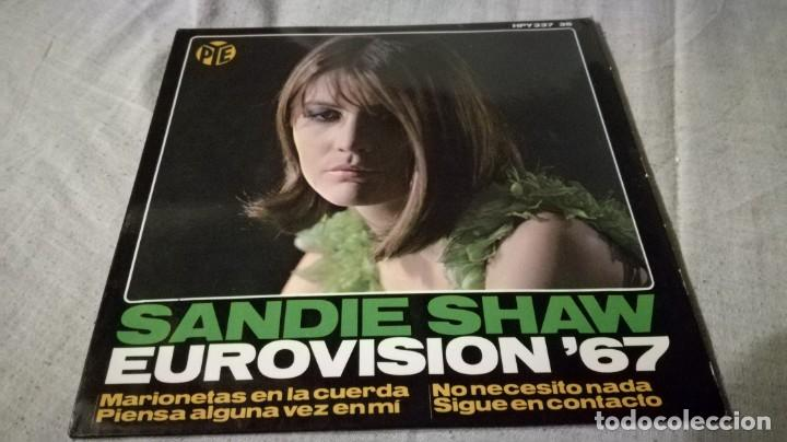SANDIE SHAW EUROVISION 67-HISPAVOX/ PI22 (Música - Discos de Vinilo - EPs - Música Infantil)