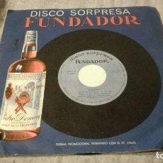 Discos de vinilo: DISCO SORPRESA FUNDADOR-10094 - 1966-1967/ PI22. Lote 132330394