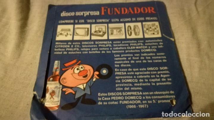 Discos de vinilo: disco sorpresa fundador-10094 - 1966-1967/ pi22 - Foto 2 - 132330394