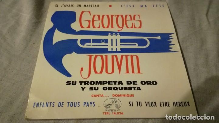 GEORGES JOUVIN-SU TROMPETA DE ORO Y SU ORQUESTA-ODEON/ PI22 (Música - Discos de Vinilo - EPs - Música Infantil)