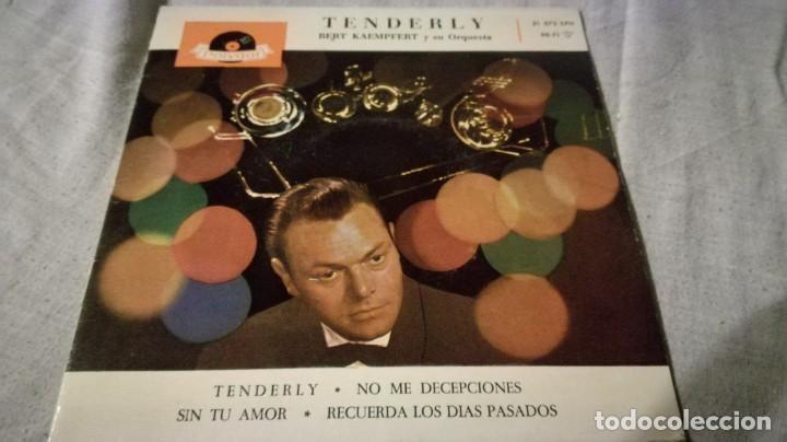 TENDERLY-BERT KAEMPFERT Y SU ORQUESTA-DOLYDOR/ PI22 (Música - Discos de Vinilo - EPs - Música Infantil)