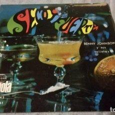 Discos de vinilo: SECO Y FUERTE-BENNY JOHNSON Y SUS SOLISTAS/ PI22. Lote 132331562