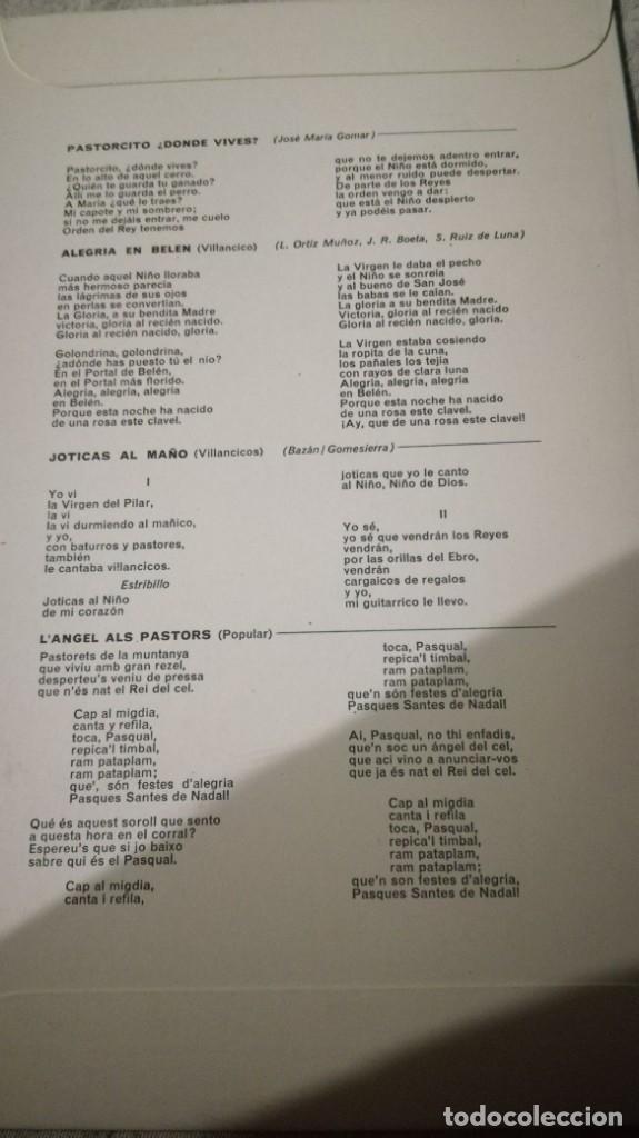 Discos de vinilo: rocio durcal-felices navidades-philips/ pi22 - Foto 3 - 132332074