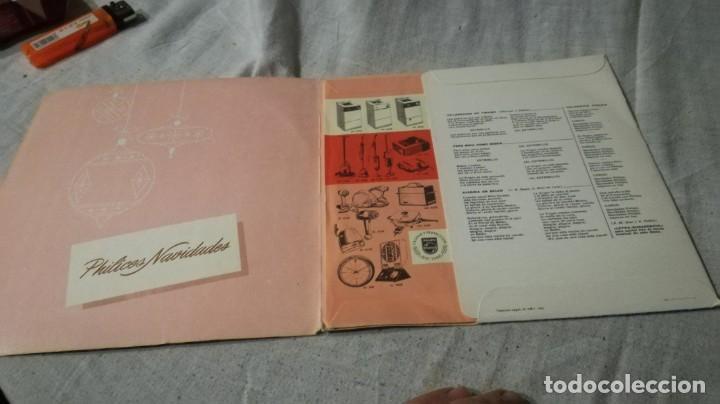 Discos de vinilo: rocio durcal--navidades mejores no hay-philips/ pi22 - Foto 2 - 132332166