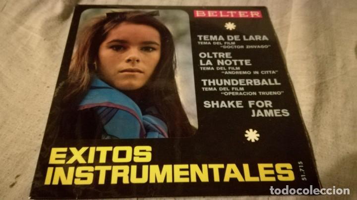 EXITOS INSTRUMENTALES-TEMA DE LARA-OLTRE LA NOTTE-THUDERBALL-SHAKE FOR JAMES/ PI22 (Música - Discos de Vinilo - EPs - Música Infantil)
