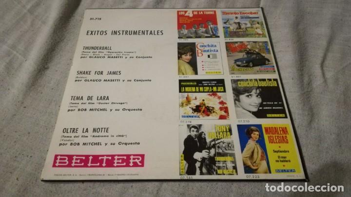 Discos de vinilo: exitos instrumentales-tema de lara-oltre la notte-thuderball-shake for james/ pi22 - Foto 2 - 132332474