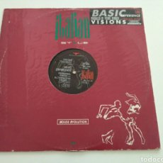 Discos de vinilo: BASIC EXPERIENCE - VISIONS. Lote 132342590