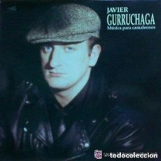 Discos de vinilo: JAVIER GURRUCHAGA, MUSICA PARA CAMALEONES, LP CBS SPAIN 1990. Lote 132346510