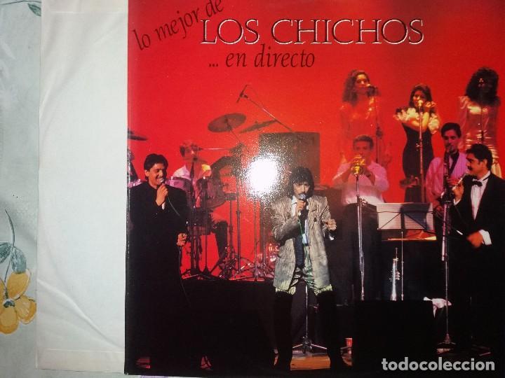 TER LO MEJOR DE LOS CHICHOS.. EN DIRECTO PERFECTO LP TODOS SUS EXITOS (Música - Discos - LP Vinilo - Grupos Españoles de los 70 y 80)