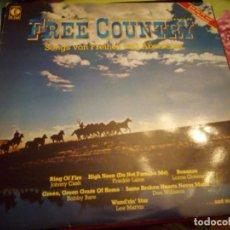Discos de vinilo: FREE COUTRY SONGS VON FREIHEIT UND ABENTEUR.1983. Lote 132353874