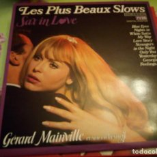 Discos de vinilo: GÉRARD MAINVILLE ET SON ORCHESTRE ?– LES PLUS BEAUX SLOWS - SAX IN LOVE,1987,2 LP. Lote 132354494