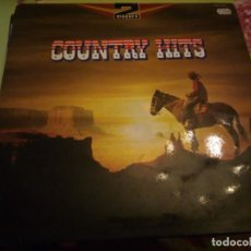 Discos de vinilo: TOMPALL & THE GLASER BROTHERS COUNTRY HITS.2 LPS. Lote 132355566