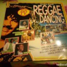 Discos de vinilo: REGGAE DANCING. 2 LPS 1989. Lote 132356922