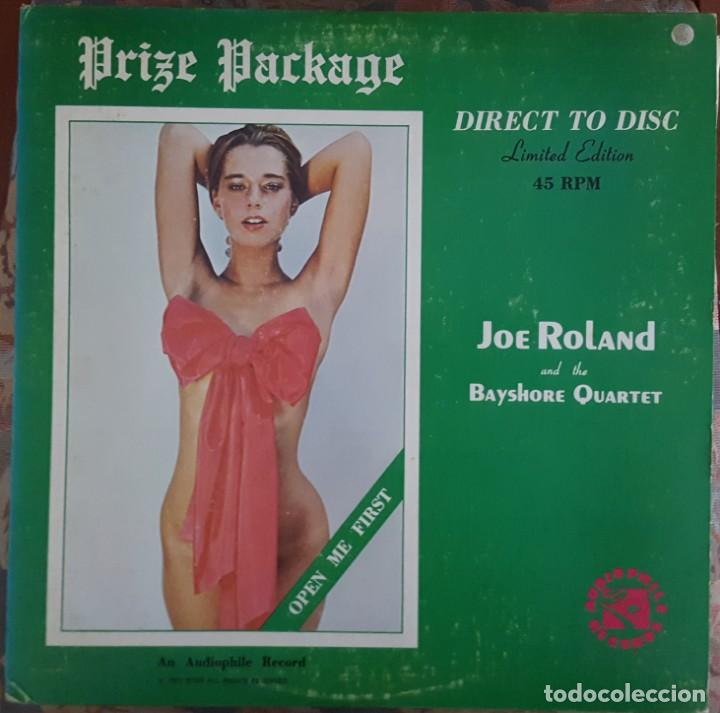 MAXI - JOE ROLAND - PRIZE PACKAGE - AUDIOPHILE RECORD BTSR/AR 5105D-D - LIMITED EDITION 45RPM - RARO (Música - Discos de Vinilo - Maxi Singles - Jazz, Jazz-Rock, Blues y R&B)