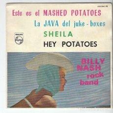 Discos de vinilo: BILLY NASH ROCK BAND: MASHED POTATOES- MUY NUEVO-NUEVISIMO!!. Lote 132361474
