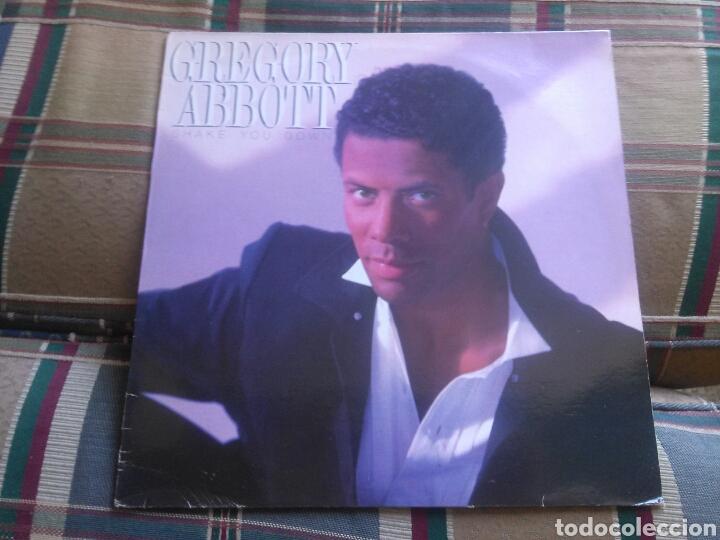 GREGORY ABBOTT LP SHAKE YOUR DOWN 1986 VG+ SOUL (Música - Discos - LP Vinilo - Funk, Soul y Black Music)
