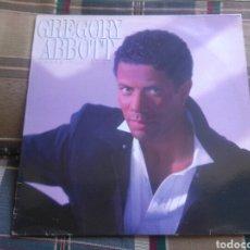 Discos de vinilo: GREGORY ABBOTT LP SHAKE YOUR DOWN 1986 VG+ SOUL. Lote 132363122