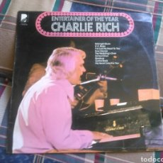 Discos de vinilo: CHARLIE RICH LP ENTERTAINER OF THE YEAR 1976 ED ESPAÑOLA COUNTRY. Lote 132363409
