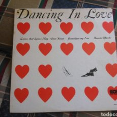 Discos de vinilo: THE ROPER DANCE ORCHESTRA LP DANCING IN LOVE USA PRESS ORIG LATIN FOLK MAMBO ORCHESTRA MUY RARO. Lote 132385781