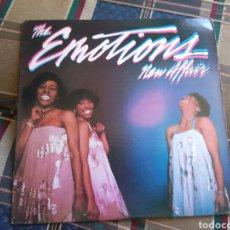 Discos de vinilo: THE EMOTIONS LP NEW AFFAIR 1981 USA PRESS SOUL. Lote 132386031