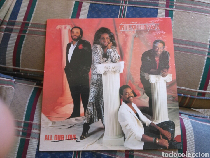 GLADYS KNIGHT AND THE PIPS LP ALL OUR LOVE 1987 SOUL (Música - Discos - LP Vinilo - Funk, Soul y Black Music)