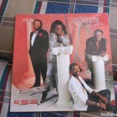 Discos de vinilo: GLADYS KNIGHT AND THE PIPS LP ALL OUR LOVE 1987 SOUL. Lote 132386097
