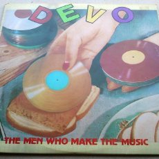 Discos de vinilo: DEVO - THE MEN WHO MAKE THE MUSIC - DOBLE LP - 1979. Lote 132395702