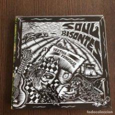 Discos de vinilo: SOUL BISONTES - VÉRTIGO PENINSULAR - LP ALEHOP! 1994 - CON ENCARTE. Lote 132402466