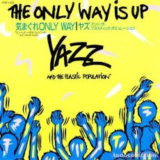 Discos de vinilo: OFERTA PROMO YAZZ AND THE PLASTIC POPULATION - THE ONLY WAY IS UP - SINGLE JAPON. Lote 132409102