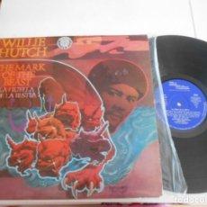 Discos de vinilo: WILLIE HUTCH-LP THE MARK OF THE BEAST-SPAIN 1975. Lote 132411086