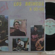 Discos de vinilo: LOS BRINCOS - A GO GO - RARO LP COLOMBIANO - ZAFIRO - GRABADO EN EL ESTUDIO DE LOS BEATLES. Lote 132411210