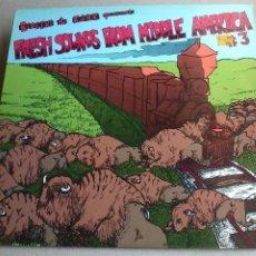 Discos de vinilo: FRESH SOUNDS FROM MIDDLE AMERICA # 3 - LP - VARIOS - 1986 - BUEN ESTADO. Lote 132414974