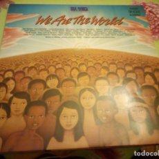 Discos de vinilo: USA FOR AFRICA ?– WE ARE THE WORLD. MAXI SINGLE 45 RPM. 1984. Lote 132415898