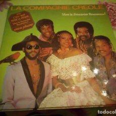 Discos de vinilo: LA COMPAGNIE CREOLE - VIVE LE DOUANIER ROUSSEAU VIENS PLEURER. 1983. Lote 132416706