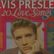 Discos de vinilo: ELVIS PRESLEY 20 LOVE SONGS. Lote 132421994