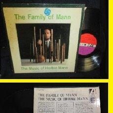 Discos de vinilo: HERBIE MANN - THE FAMILY OF MAN 1961 !! RAY BARRETTO, CHARLIE PALMIERI !! 1ª EDIC ORIG.USA !! EXC. Lote 132427125