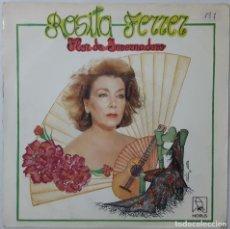 Discos de vinilo: SINGLE - ROSITA FERRER - TRONCO, VIVA EL DIVORCIO / FLOR DE INVERNADERO - HORUS 50.027 - 1987. Lote 132436378