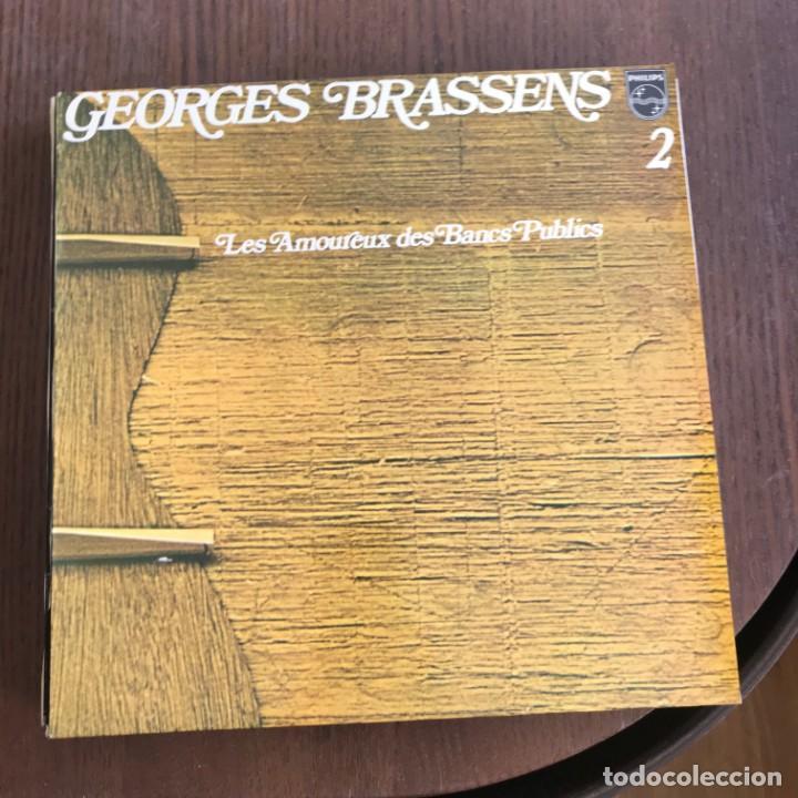 Georges Brassens 2 Les Amoureux Des Bancs P Buy Vinyl Records
