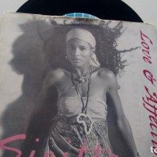 Discos de vinilo: SINGLE (VINILO)-PROMOCION- DE SINITTA AÑOS 90. Lote 132448958