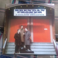 Discos de vinilo: BRENDAN CROKER AND THE 5 O'CLOCK SHADOWS LP SAME 1989 CON ENCARTE VG+ ROCK N'ROLL. Lote 132460339