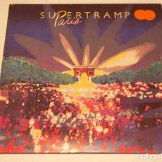 Discos de vinilo: SUPERTRAMP ( PARIS ) 1980 - HOLANDA DOBLE LP33 A&M RECORDS. Lote 132467742