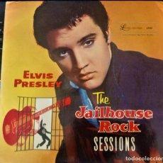 Discos de vinilo: ELVIS PRESLEY || THE JAILHOUSE ROCK SESSIONS || LAUREL. Lote 132475474