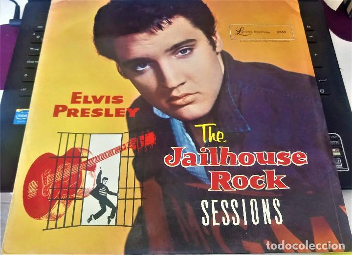 Discos de vinilo: ELVIS PRESLEY || THE JAILHOUSE ROCK SESSIONS || LAUREL - Foto 2 - 132475474